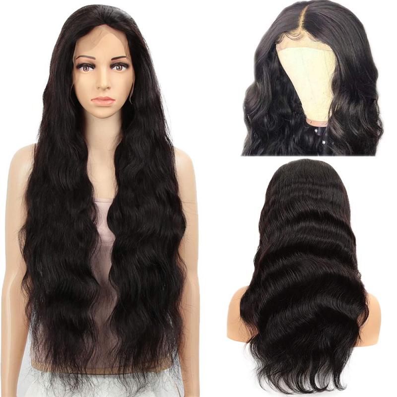 Lace Front Human Hair Wigs Natural Color Body Wave Wig 13x6/13x4 Brazilian Remy Lace Front Wig 180/250 Density Lace Wig