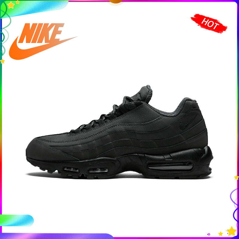 Original Authentic NIKE AIR MAX 95 ESSENTIAL Men's Running Shoes Outdoor Sports Shoes Durable Jogging Comfort 749766-009
