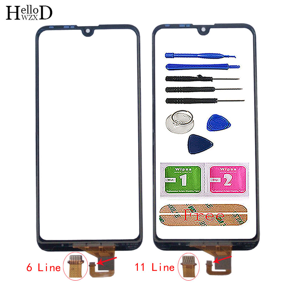 Touch Screen Digitizer Panel For Huawei Y7 Pro 2019 / Y7 2019 / Y7 Prime 2019 Touch Screen Lens Sensor TouchScreen Tools Glue