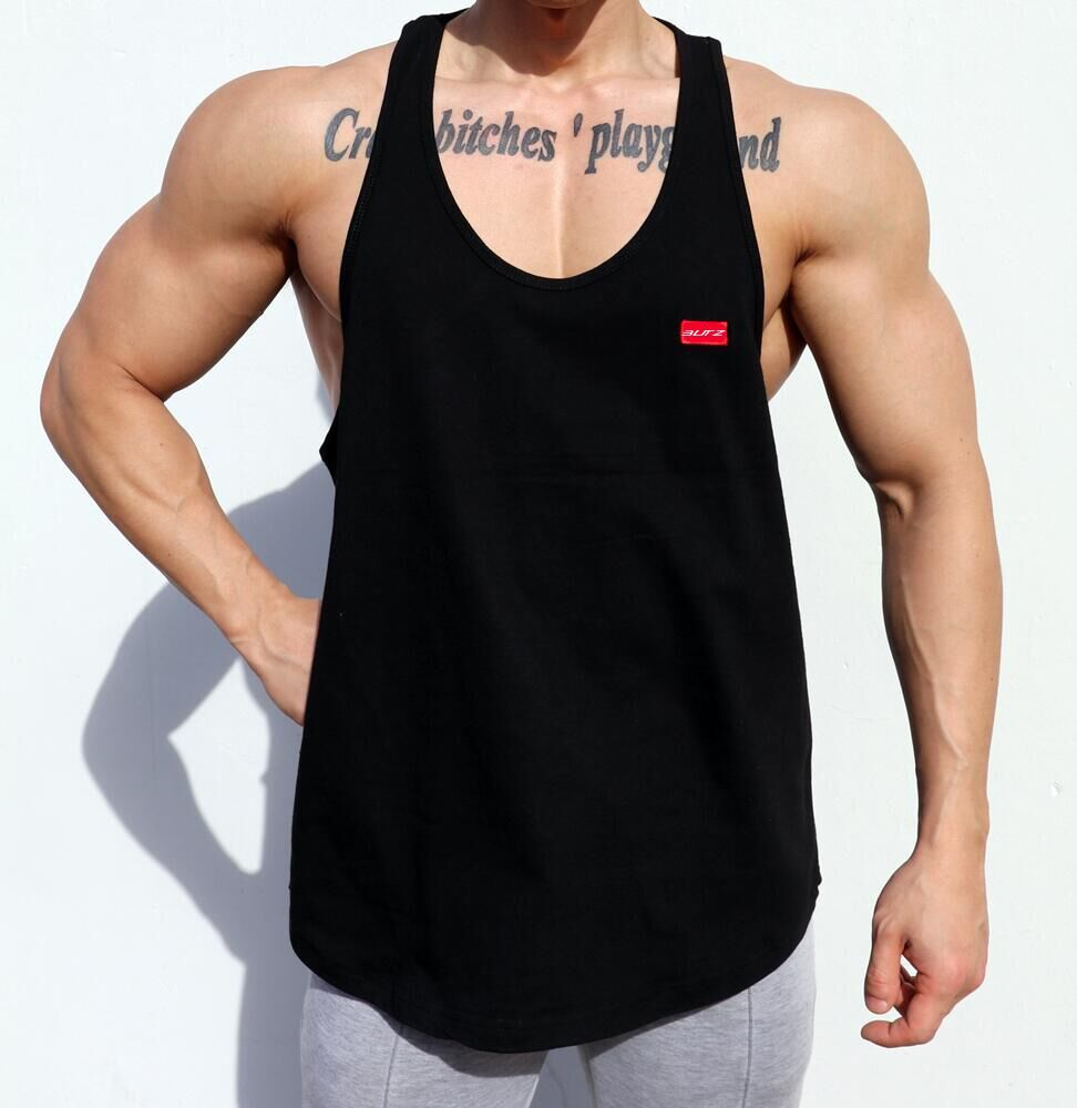 Fitness Vest Men's Summer New Training Cotton Sleeveless Tank Top Men Bodybuilding Gym Clothing Musculation Debardeur Homme