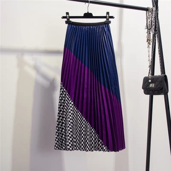 Trend color skirt