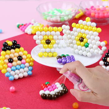 Crafts for Kids Bead Beads DIY Crystal Creative Material Water Spray Magic Puzzle Educational Toys Children Wholesale