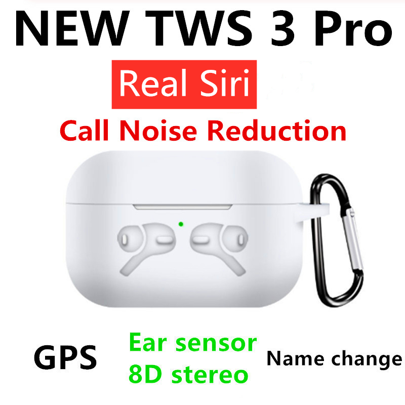NEW Superpods Pro Bluetooth Earphones With Positioning Name Change Smart Sensor Wireless Charging Noise Reduction TWS 3 Pro
