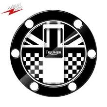 Dla Triumph Rocket III prędkość potrójna ulica TWIN AMERICA 3D naklejka motocyklowa korek zbiornika paliwa Protector