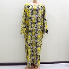 2020 패션 디자인 새로운 도착 아프리카의 o 넥 긴 소매 긴 드레스 여성 봄 드레스 Casaul 우아한 여성 드레스