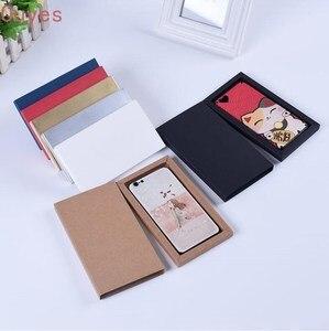 Image 5 - 20pcs 전화 케이스 포장 상자 서랍 종이 골 판지 상자 매트 슬리브 선물 상자 보석 디스플레이 상자