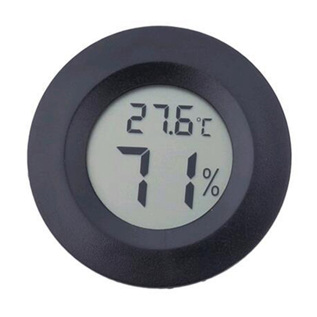 Outdoor Sports Thermometer Reptile Electronic Hygrometer Round Hygrometer Camping Equipment Tool Accessories Outdoor Gadget