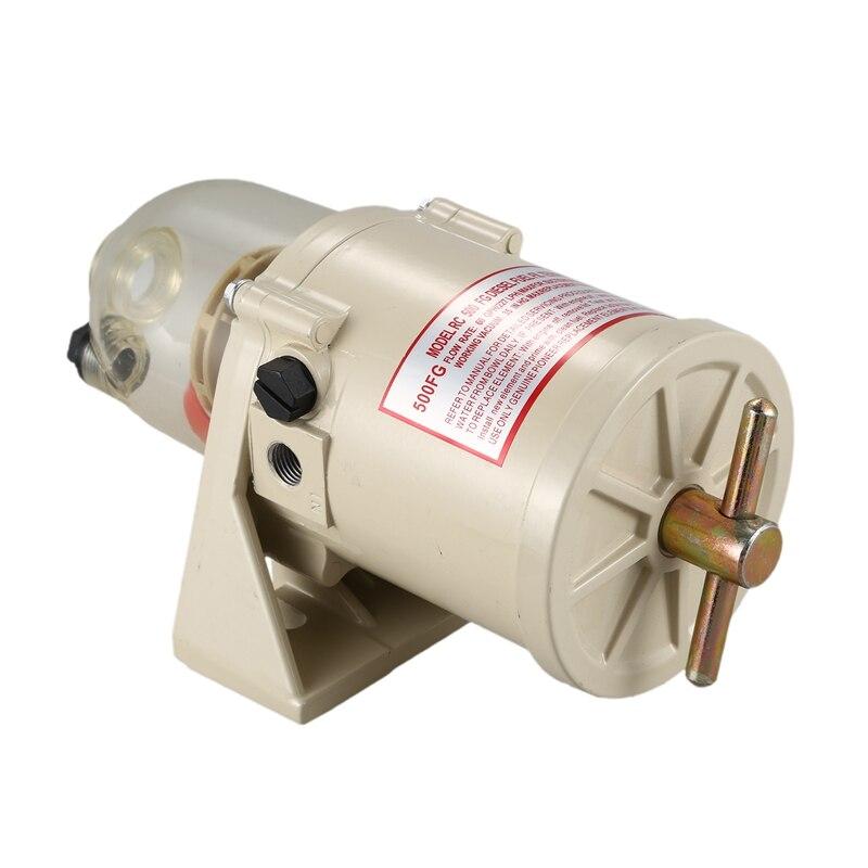 500FG/FH filtre bateau pièces modifiées séparateur d'eau de carburant marin filtre à carburant séparateur d'eau avec chauffage - 4