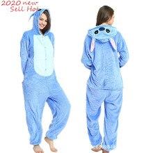 Pajamas Unicorn Stitch Panda Kigurumi Onesie Women Totoro Cosplay Girl Adult Children