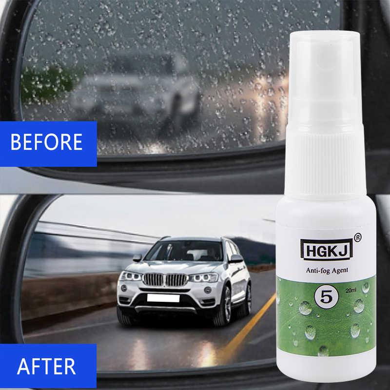 1 sztuk 20ml Anti-fog Agent wodoodporny deszczoodporny anit-mgła Spray Auto okno samochodu środek do czyszczenia szkła czyszczenie samochodu akcesoria samochodowe TSLM1