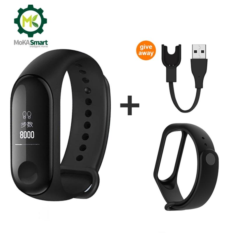 Bluetooth Smart Bracelet Men Women Blood Pressure Heart Rate Step Counter Fitness tracker waterproof smart band|Smart Wristbands|   - title=