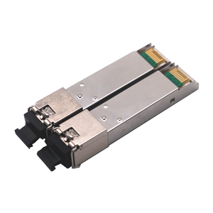 Image 2 - 1pair SC SFP Module Gigabit BIDI 1000Mbps Fiber Tranceiver  Module Mini GBIC SFP Module Compatible with Mikrotik/Cisco Switch