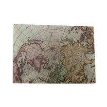 5 Pcs/lot Vintage Sulfuric Acid Paper Envelopes Globe Map Postcard Invitation Letter Card Bag Greeting Cards