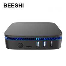 MINI PC Windows 10, AK1, Intel Apollo Lake Celeron J3455, 4 go/64 go, 6 go/64 go, 2.4 go/5 go, WIFI double bande BT4.0, boîtier TV, 4K