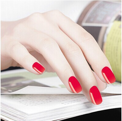 Genuine Product Manicure Wholesale Nail Polish All Adhesive Paper Environmentally Friendly Pregnant Women Usable Solid Color's S