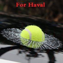 Auto Stile Palla Colpisce Del Corpo di Automobile Finestra Da Tennis 3D Sticker Per Haval Haval H2 H3 H5 H6 H8 H8 H9 m4 C30 C50 C20R car styling