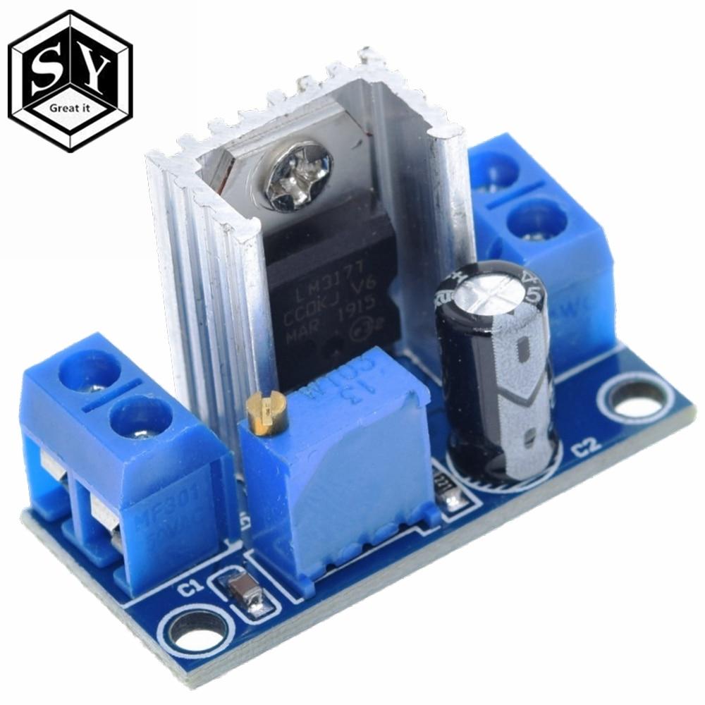1PCS Great IT LM317 DC Linear Regulator DC DC 4.5~40V Turn 1.2~37V Step Down Power Module Adjustable module voice regulator motormodule rfid - AliExpress