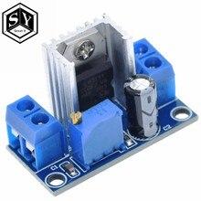 Ótimo regulador linear it lm317 dc, regulador linear DC-DC 4.5 ~ 40v vira 1.2 ~ 37v, passo para baixo módulo de alimentação ajustável