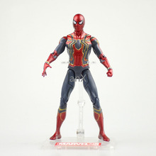 17cm Movie Avengers Infinity War Iron Spiderman Figure Spider Man Figure Spider Gwen PVC Spider Man Figures Toys Model Dolls