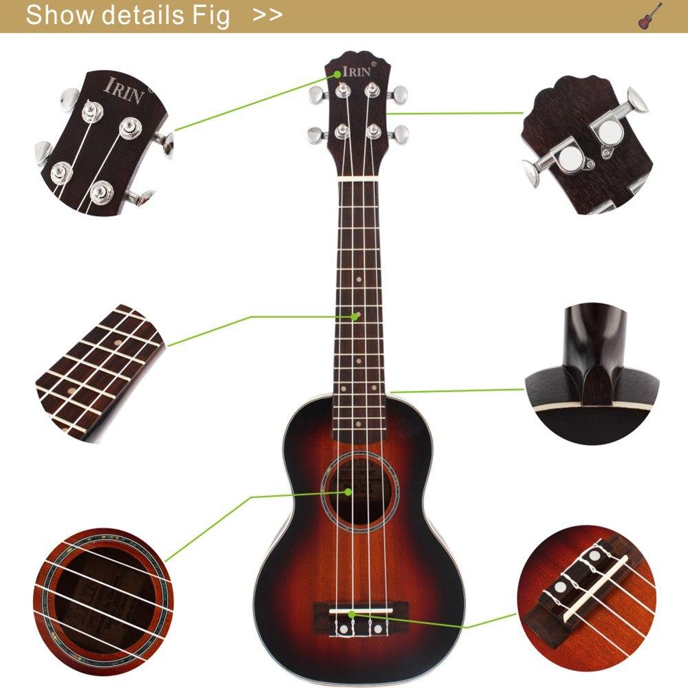 30 дюймов деревянная электрическая бас гитара 4 струны Гавайские гитары укулеле Музыкальные инструменты Закрытая ручка Гавайские гитары ra ... - 5