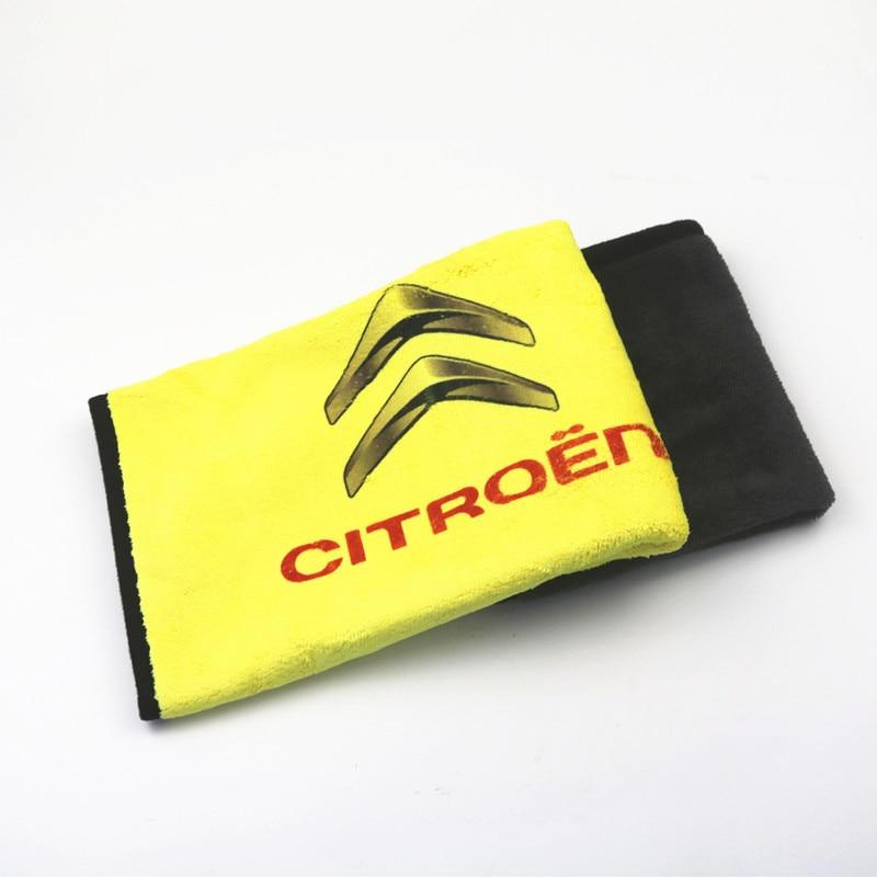 1pcs Car Towel Car Sticker For Citroen C4 C5 C3 C2 C1 C4L Picasso Saxo Car Styling Accessories