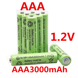 AAA 3000 mAh 1.2 V Quality rechargeable battery AAA 3000 mAh Ni-MH rechargeable 1.2 V 2A battery