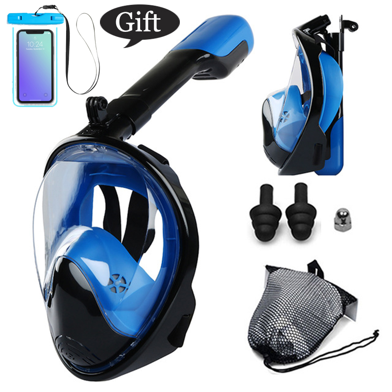 Adult Professional Snorkeling Diving Mask Anti-fog Skuba Diving Goggles Wide Vision Underwater Glasses Swimming Accessory