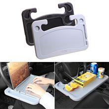 Computador portátil do carro mesa multifuncional volante suporte para telefone trabalho bebida comida café hamburger bandeja placa