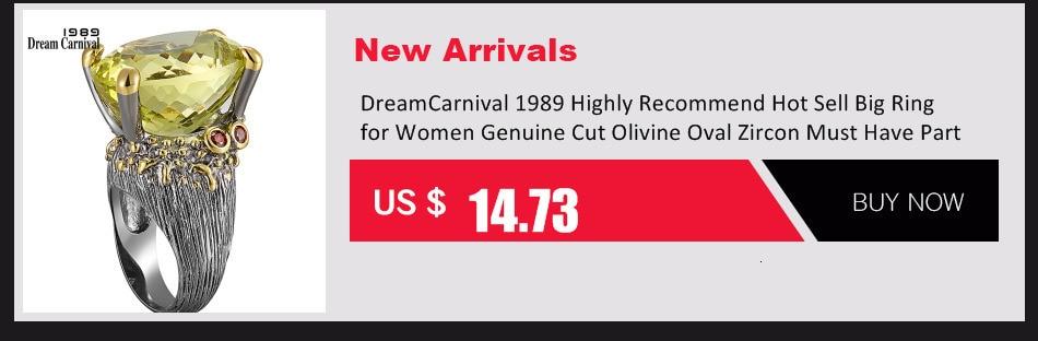 Dreamcarnival1989 exagerada personalidade colorido zircão anel para