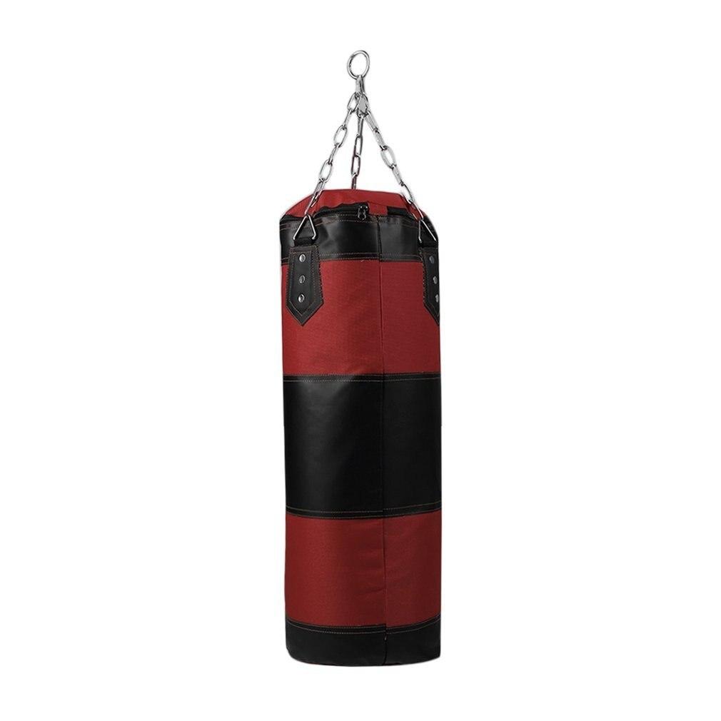 70cm Boxing Punching Bag Boxing Sandbags Striking Drop Hollow Empty Sand Bag Punch Target Training Fitness MMA Hook Hanging Kick