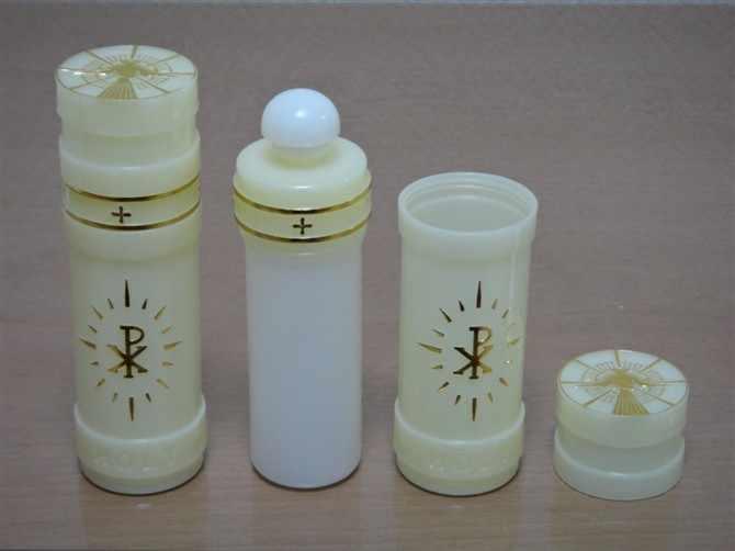 Air suci Botol Portable Katolik Botol Hadiah Kamar Dekorasi Desktop Dekorasi