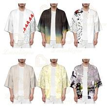Naruto 2020 Kimonos Men Woman Japanese Kimono Cosplay Shirt Blouse Yukata Summer Beach Kimono Couple Costume blouse 0800500 49