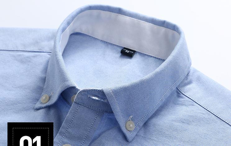 Rrive Mens Summer Button Down Embroidery Short Sleeve Dress Work Shirt