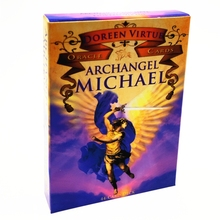 Archangel Mi-chael Oracle Cards Full English 44 Cards Deck Tarots Astrology Divination Fate Family Party Board Game