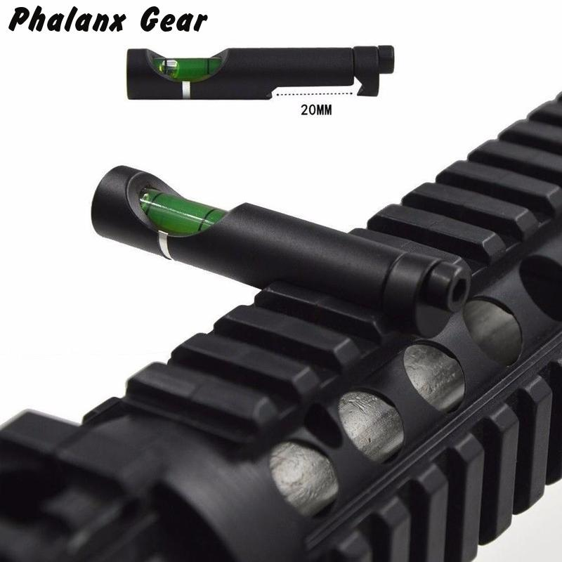 Scope Mounts Accessories Bubble Level For 20mm Outdoor Hunting Weaver Rail Rifle Scope Mount Metal Spirit Picatinny