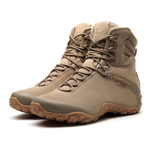 Men Tactical Boots Army Mens Military Desert Waterproof Work Safety Shoes Climbing Sport Ankle Women Outdoor