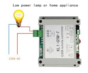 Image 3 - App Afstandsbediening Gsm Schakelaar KL1 GSM T Met Temperatuur Sensor Ondersteunt 10A Uitgang, 1 Temperatuur Detectie, 6 Groepen Controle