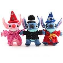 Disney Stitch Lilo Plush Stuff Doll Model Anime Hot Toys New Year Gift for Children