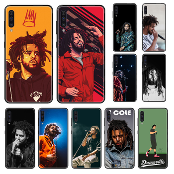 Singer J.Cole Phone case For Samsung Galaxy A 3 5 8 9 10 20 30 40 50 70 E S Plus 2016 2017 2018 2019 black soft cover luxury image