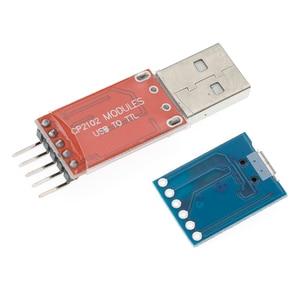 Image 4 - Módulo USB A TTL serial UART, cable de descarga STC, actualización de línea de pincel, tipo A, Micro USB, 5 pines y 6 pines, 50 Uds., CP2102
