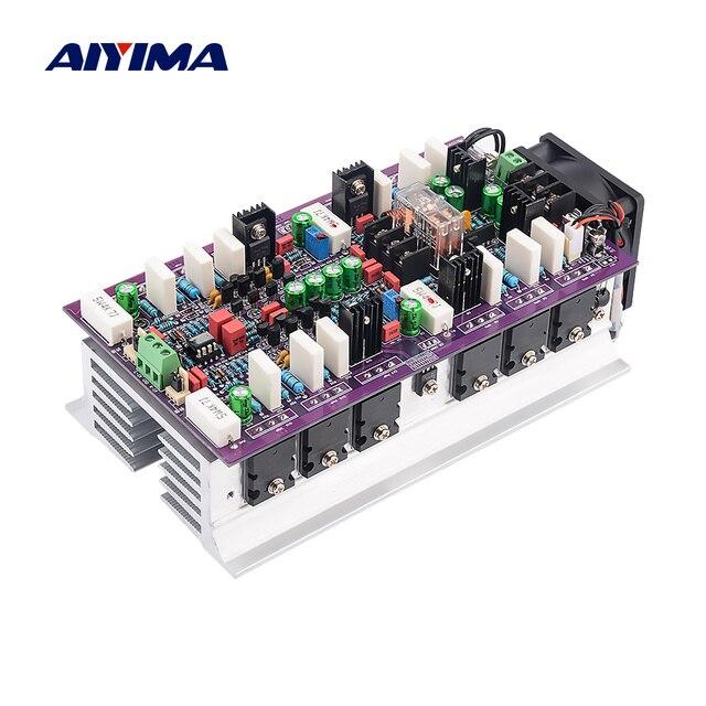 Aiyima ハイファイアンプ WY2963/WK5688 2.0 クラス ab ステレオパワーアンプオーディオアンプ 600WX2 サウンド amplificador ホームシアター diy