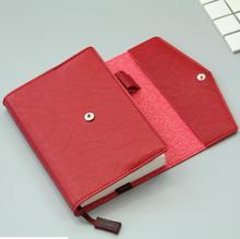 Tampa do Caderno De Couro Hobo Básica Real A5 Excluir Notebook
