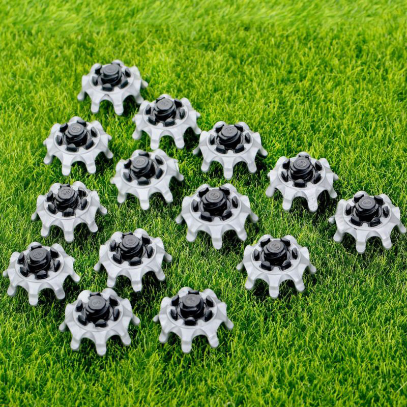 Soft Golf Shoes Spikes Fast Tool Accessory 14Pcs Replacement Pins Kit Studs Tri-Lok Hot High Quality