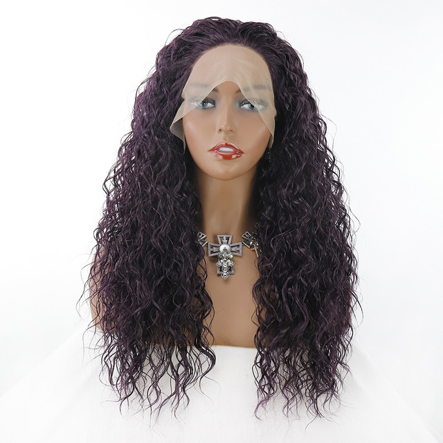 Long-Curly-Wigs-Lace-Front-Wig-Synthetic-parrucca-Wet-Silver-Grey-99j-Pink-Heavy-Density-Glueless.jpg_640x640 (2) - 副本