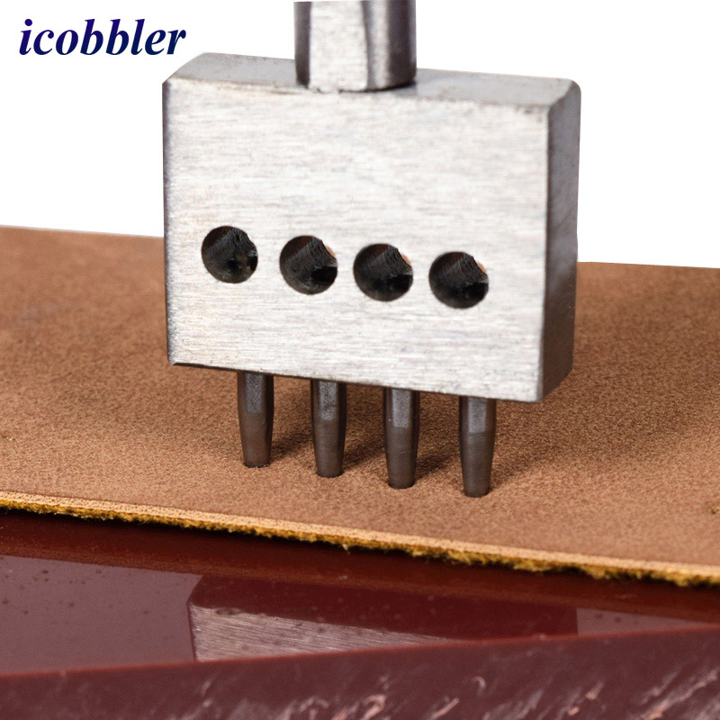 Icobbler Brand Leather Craft Punching Tool Round Punch Hollow Set - Juegos de herramientas - foto 4
