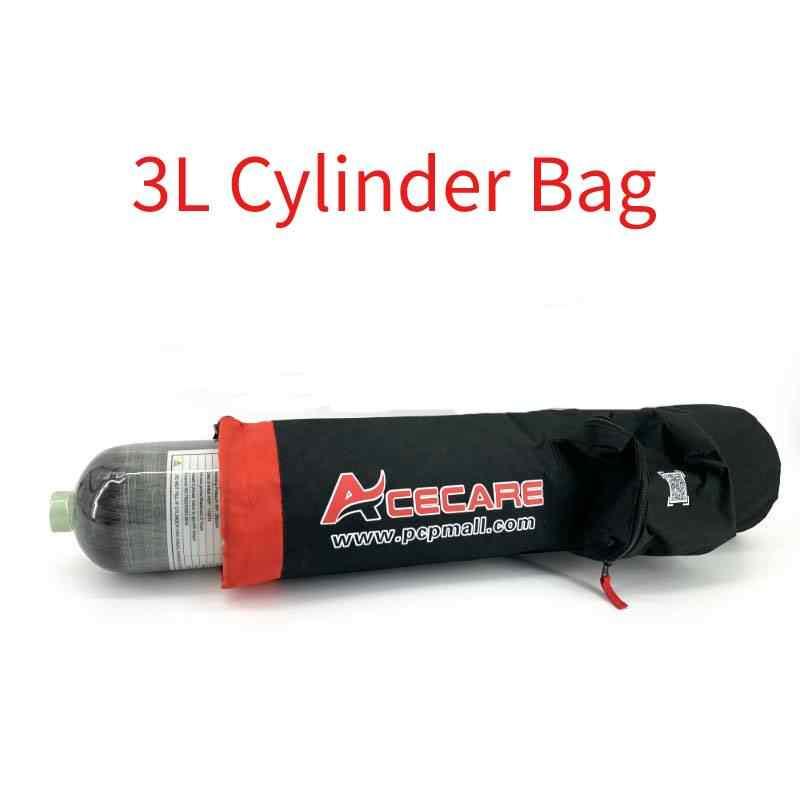 AC8003 Acecare 3L Pcp بندقية الهواء خزان حقيبة ل 3L الغوص Pcp سلاح الجو كوندور 4500 Psi ارتفاع ضغط اسطوانات حقيبة بدون خزان