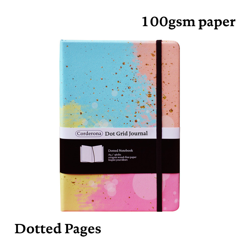Bullet Dotted Journal Dot Grid NotebookLove Bubble Hard Cover A5 Travel Diary  Planner Bujo