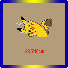 1 stuks Kleding DIY T-Shirt Applique Pokemon Warmteoverdracht Vinyl Patches Stickers op Rugzak Badges Gaan Pokemon Applique(China)