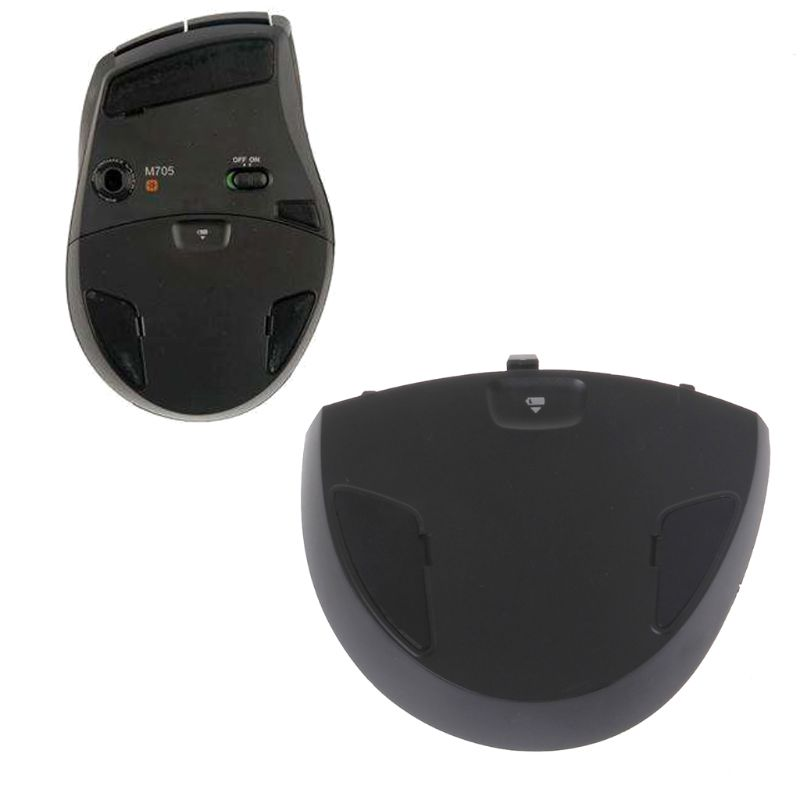 1PC Replacement Mouse Battery Cover Battery Case For Logitech M705 Laser Wireless Mouse QX2B