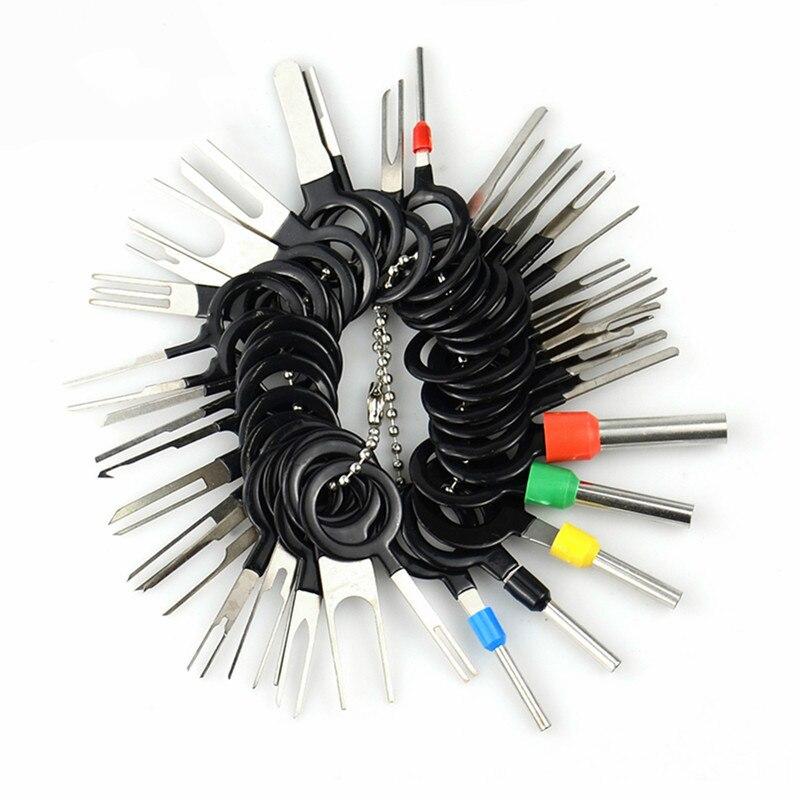 2020 Новый 38 шт. инструмент для снятия автомобильной клеммы провод с разъемом для подключения к экстрактор Съемник Для штырь экстрактор компл...